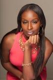 Fashionable Black Woman Royalty Free Stock Photos