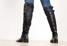 Fashionable boots Royalty Free Stock Photos