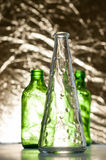 Fashionable bottles Stock Images