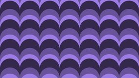 Fashionable bow in shades of ultraviolet colors. vector illustration
