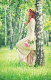 Fashionable bridal style Royalty Free Stock Photo