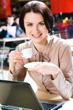 Fashionable business lady Royalty Free Stock Photography