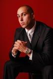 Fashionable business man. Royalty Free Stock Photos