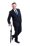 Fashionable business man and gentleman Royalty Free Stock Images