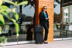 Fashionable business woman Royalty Free Stock Image