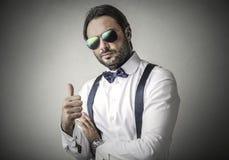 Fashionable businessman Royalty Free Stock Photos