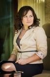 Fashionable businesswoman Stock Image
