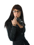 Fashionable businesswoman Royalty Free Stock Photos