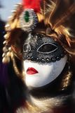 Fashionable carnival of venice Royalty Free Stock Photography