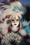 Fashionable carnival of venice Royalty Free Stock Images