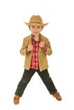 Fashionable child model boy Stock Photography