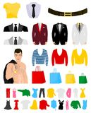 Fashionable clothes Royalty Free Stock Images