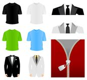 Fashionable clothes2 Stock Image