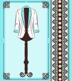 Fashionable coat Stock Image