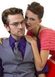Fashionable Couple Stock Image
