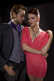 Fashionable Couple Royalty Free Stock Images