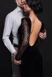 Fashionable couple.girl and boy Stock Photo