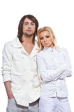 Fashionable couple Stock Photography