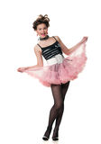 Fashionable dancer Royalty Free Stock Image