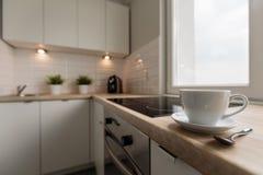 Fashionable design kitchen stock photography