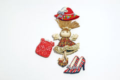 Fashionable doll Stock Photo