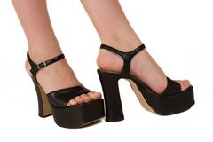Fashionable feet 3 Royalty Free Stock Image