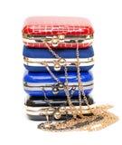 Fashionable female handbags Stock Photo