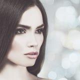 Fashionable female portrait Stock Photo