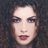 Fashionable female portrait. Stock Image