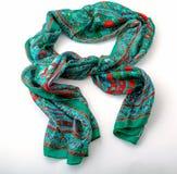 Fashionable female scarf isolated on white Stock Image