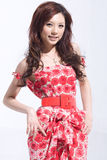Fashionable girl royalty free stock photos