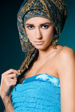 Fashionable girl Stock Photography