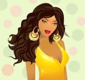 Fashionable girl Royalty Free Stock Photography