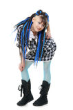 The fashionable girl Royalty Free Stock Photography