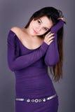 Fashionable girl Stock Image