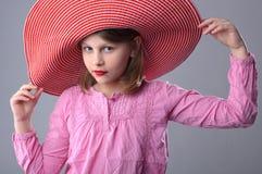 Fashionable girl. Royalty Free Stock Photo