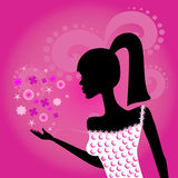 Fashionable girl Royalty Free Stock Images