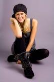 fashionable girl teenage Στοκ Φωτογραφία