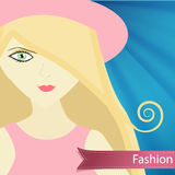 Fashionable girl Royalty Free Stock Photo
