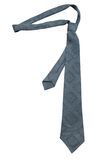 Fashionable grey necktie Stock Image