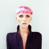 Fashionable hairstyle Stock Photography