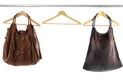 Fashionable handbags Royalty Free Stock Image