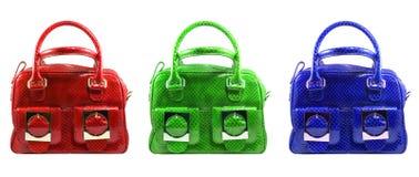 Fashionable handbags Stock Photography