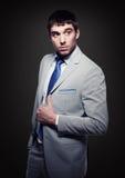 Fashionable handsome buisnessman Stock Photos