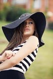 Fashionable hat Royalty Free Stock Image