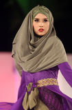 Fashionable hijab Stock Photo