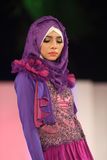Fashionable hijab Stock Images