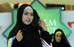 Fashionable hijab Stock Photos