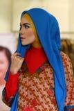 Fashionable hijab Stock Image