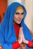 Fashionable hijab Royalty Free Stock Image
